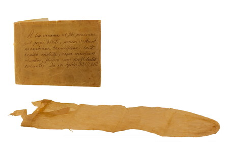 Condom With Manual From 1813