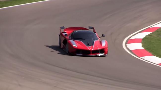 Ferrari FXX K en Imola: ya les gustaría a los Fórmula 1 actuales sonar como él (vídeo)
