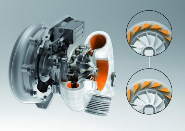 Turbocompresor geometría variable