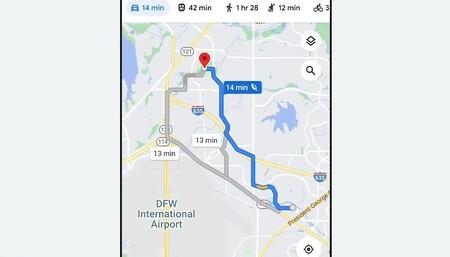 Google Maps Eco Ruta