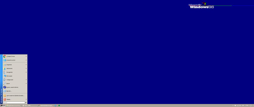 Cómo hacer que Windows 10 se vea como Windows 98, porque ¿por qué no?