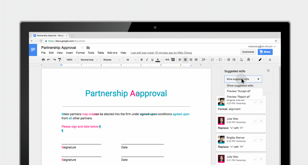 Get On The Same Page New Google Docs Features Power Team Collaboration
