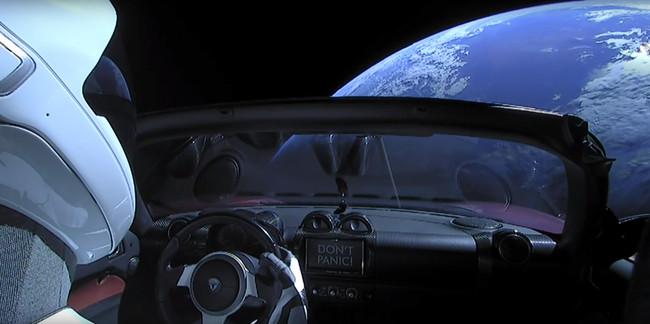 Starman Falcon Heavy