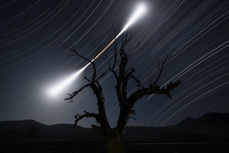 Eclipsed Moon Trail C Chuanjin Su