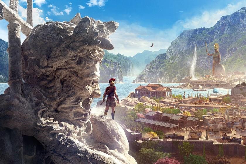El Discovery Tour de Assassin's Creed Odyssey llega este mes para que podamos darnos una vuelta por la antigua Grecia