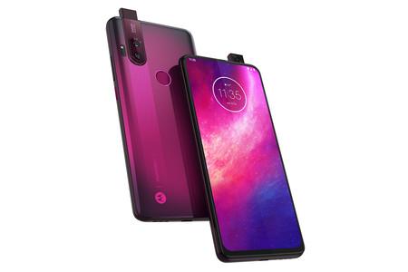 Motorola One Hyper Trasera