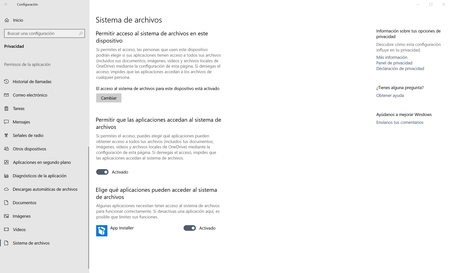 Windows 10 Sistema De Archivos
