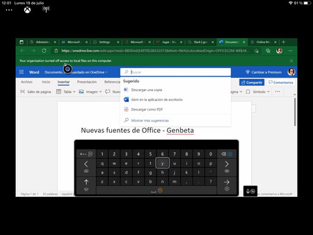 Office On Edge For Xbox