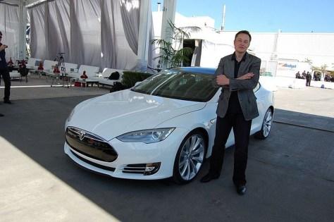 Elon Musk Tesla Factory Fremont