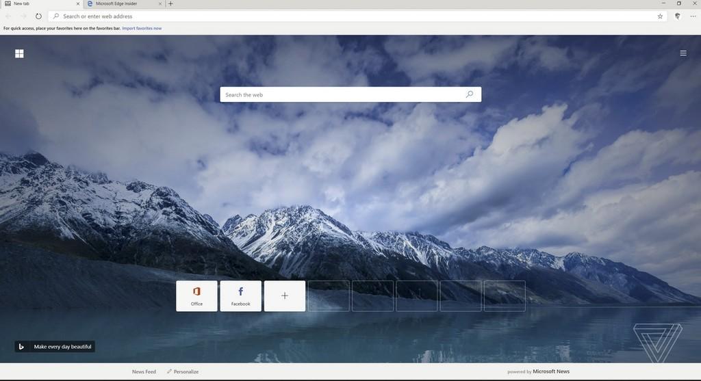 Chromium le da una nueva vida a Microsoft Edge: aún está en desarrollo, pero ya hay buenas noticias