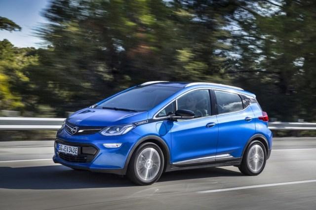 Opel Ampera Azul
