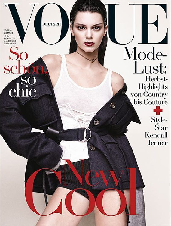 Vogue Alemania:  Kendall Jenner