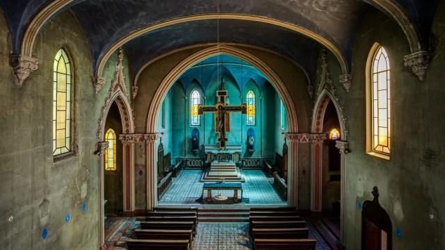 Copy Of James Kerwin Photographic Blue Church 1