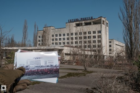 Pripyat Then And Now Main Square