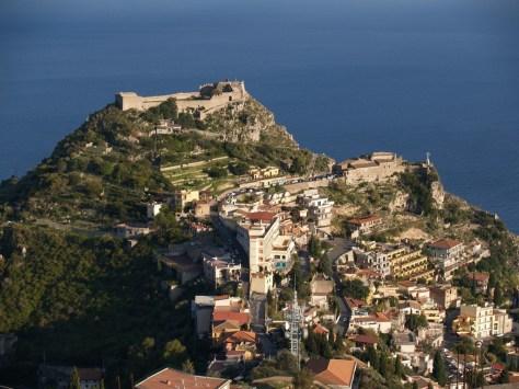 Taormina Castello And Madonna Della Rocca