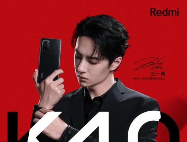 Xiaomi muestra la 1.ª imagen oficial de los Redmi K40 en su edición 'Black Edition'