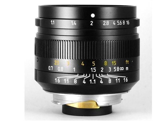 7Artisans quinientos mm. f/1,1 para Leica M