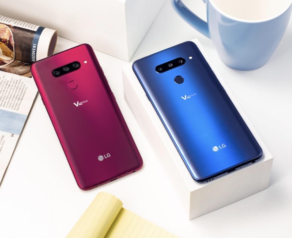 LG V40 ThinQ, las 5 cámaras en un movil ya son una realidad