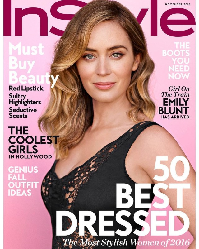 InStyle USA: Emily Blunt
