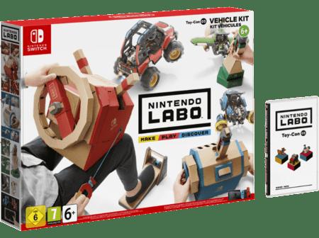 Nintendo Labo vehicles