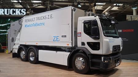 Camioón eléctrico Renault
