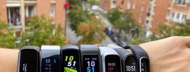 La mejor pulsera de actividad por menos de 100 euros (2019) : guía de compra y comparativa
