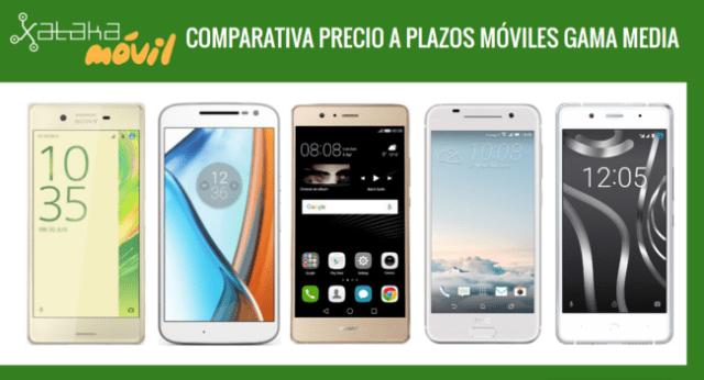Comparativa Moviles Gama Media Con Pago A Plazos