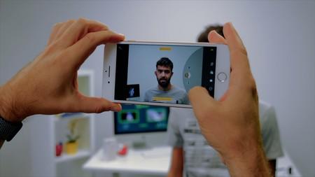 Cámara del iPhone 8 Plus