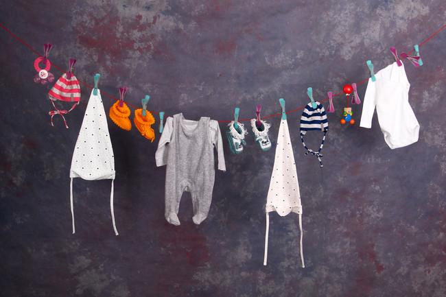 Cómo lavar la ropa del bebé