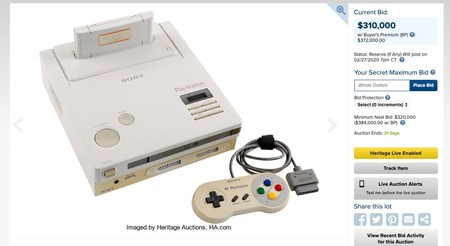Window Y Nintendo Play Station Super Nes Cd Rom Prototype Sony And Lot 93060 Heritage Auctions