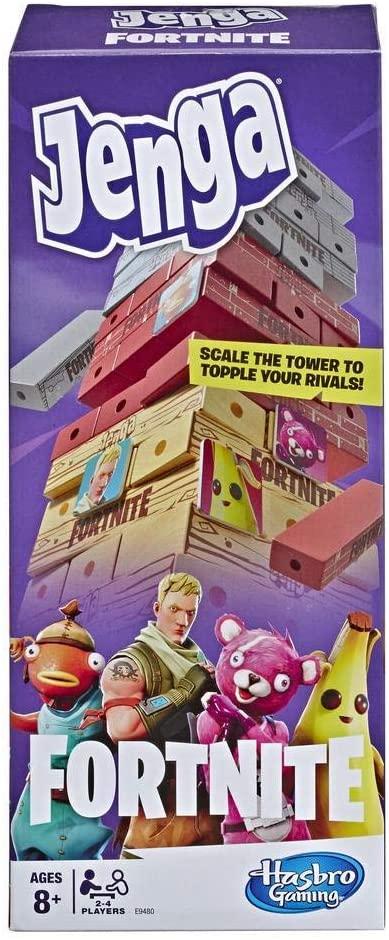 Hasbro Gaming Juego de Mesa Jenga Fortnite
