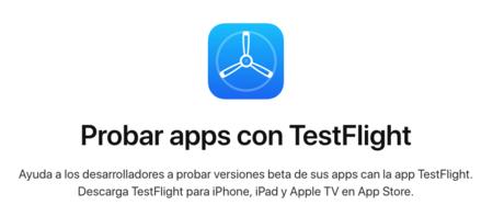 TestFlight para iOS