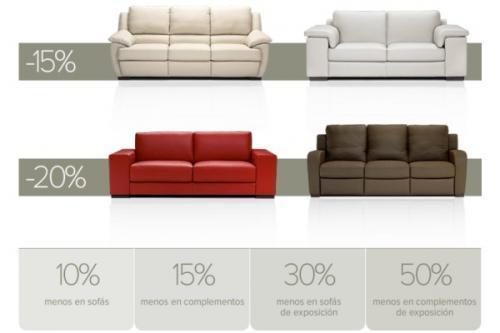 Sofas de piel natuzzi precios for Ofertas de sofas en piel