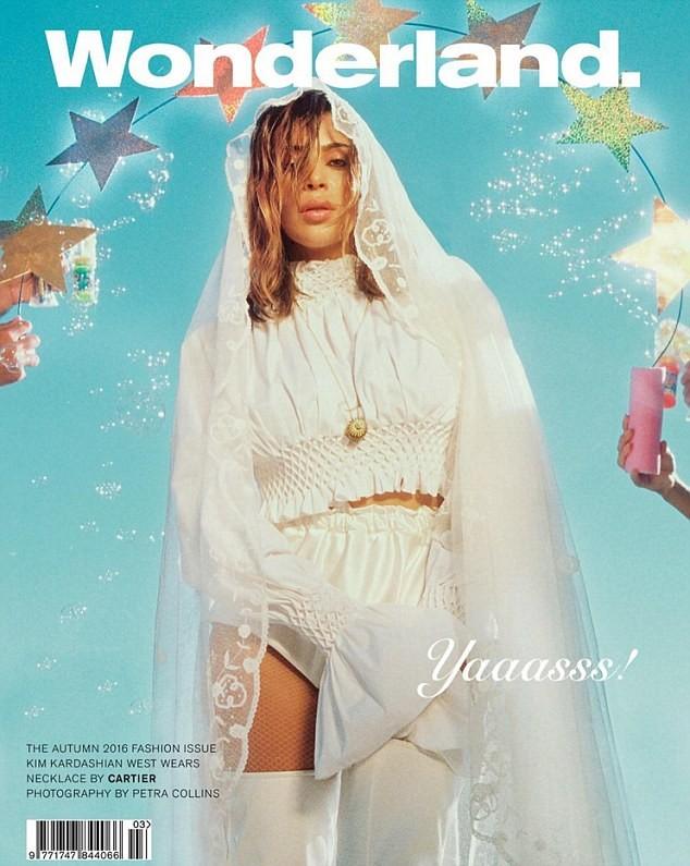 Wonderland Otoño 2016:  Kim Kardashian West