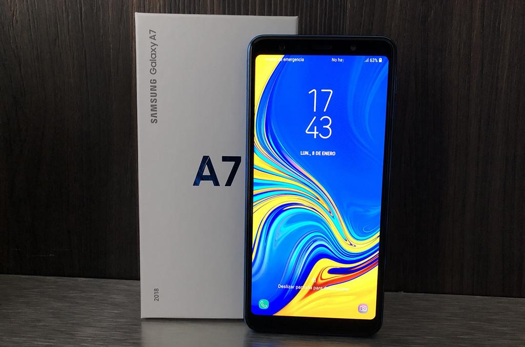Samsung Galaxy A7 (2018), primeras impresiones: la triple cámara entra en Samsung® por la variedad media