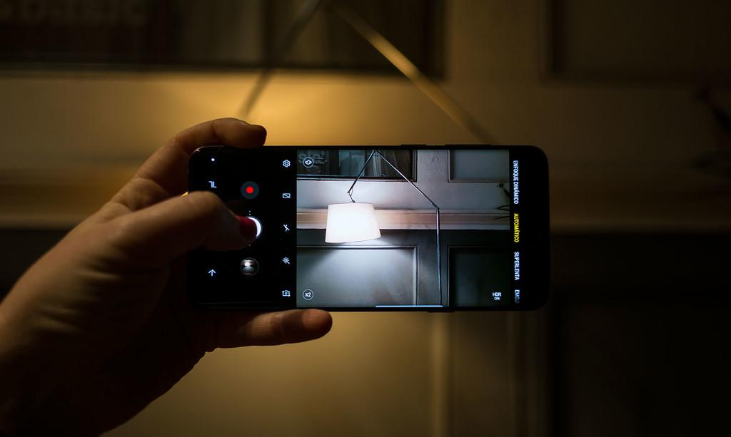 Samsung Galaxy S9plus Camara Auto
