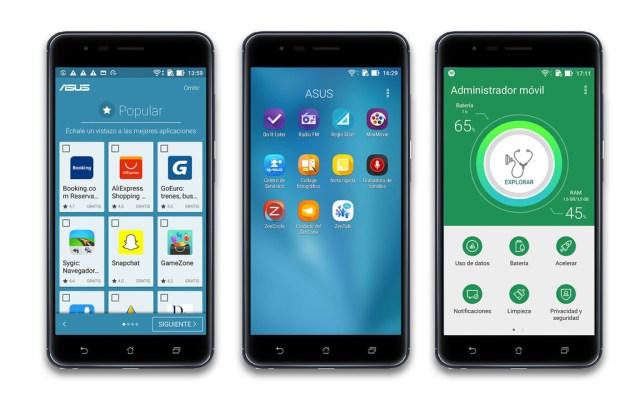 Asus Zenfone Zoom S, Sistema