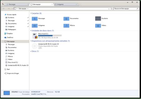 Windows Explorer Clover Tabs