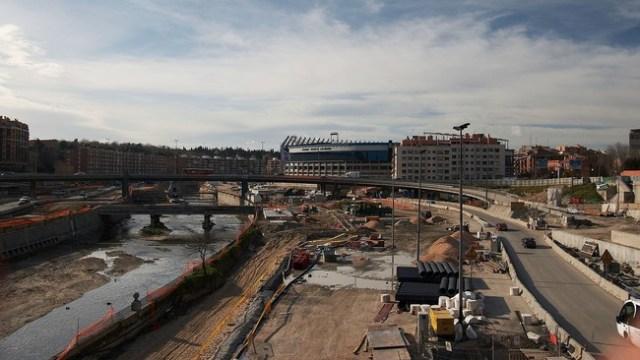 Madrid Obras M treinta Puente De Toledo 20070210a