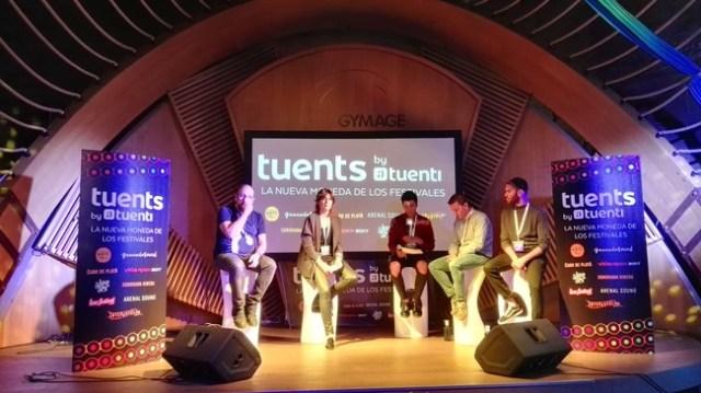 Tuenti crea Tuents, moneda virtual para festivales de música y para adquirir gigas extra