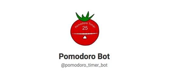 Telegram Contact Pomodoro Timer Bot