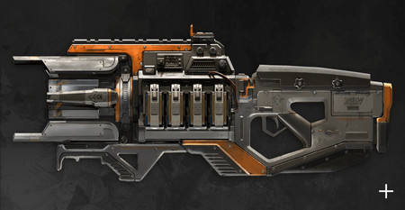 Apex Legends Charge Rifle