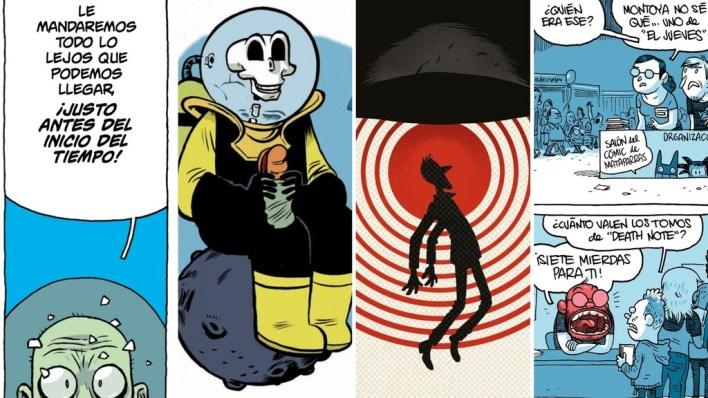 Cuando el mejor cómic de ciencia-ficción se hace en España: hablamos con Albert Monteys, autor de '¡Universo!' y 'Matadero Cinco'