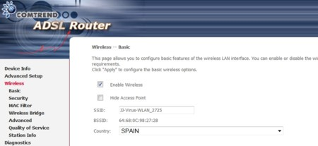 Apaga Wifi Direccion Ip Router
