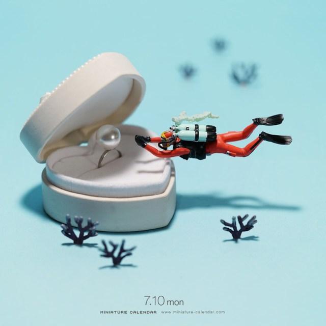 Miniature Calendar Tatsuya Tanaka 26