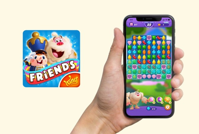 Candy Crush Friends Saga para <stro data-recalc-dims=