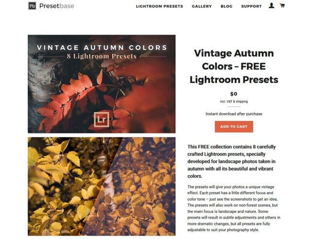 Vintage Autumn Colors Lr Presets 2