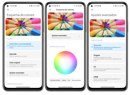 Xiaomi Mi 10t Pro 02 Ajustes Pantalla Color