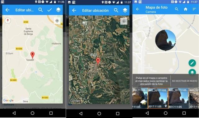 Geolocalizacion Exif Android
