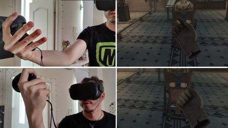 VR-Griff